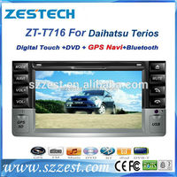 Car DVD player with navigation system For Daihatsu Terios withIGO map,rearview cam,parking sensors