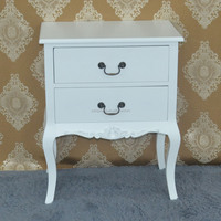 Large Brand New 2 Drawer Bedside Table/Cabinet/Chest Drawers Black or White