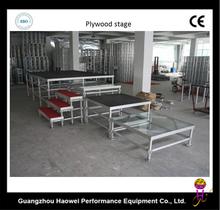 1.22x2.44m aluminum plywood stage