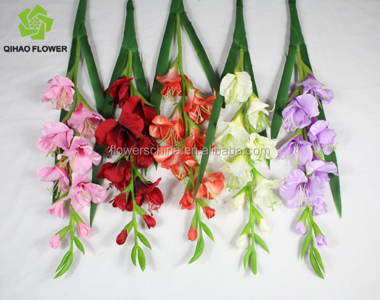 Real touch look nature silk gladiolus artificial flower make silk img2000g img2001g img2136g mightylinksfo