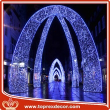 Outdoor decorative LED arch christmas light