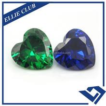 Heart Diamonds Various Color Cubic Zirconia