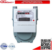 Smart diaphragm natural gas meter G2.5 with remote control