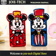 High Quality Cartoon Design Silicone Anti-shock Case For Samsung Galaxy Note 3