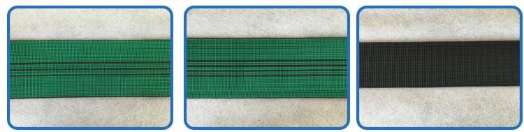 Usine directement vente personnalisé ceinture élastique, élastique en caoutchouc bande