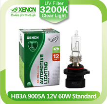 XENCN HB3A 9005XS 12V 60W 3200K Clear Series Original Car Headlight DOT EMARK Halogen Bulb Auto Lamps for Cadillac Dodge Jeep