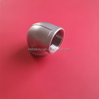 hIgh quality sus 304/316 stainless steel pipe fitting 90 degree elbow