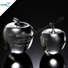 2015 Special Christmas' Eve 3D laser crystal apple Gifts