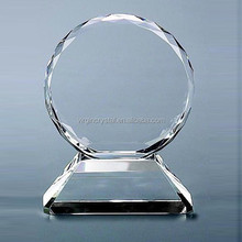 Nice clear crystal showpieces withDimond cuting eadge for office desktop