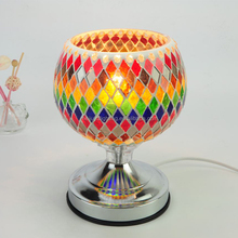 100% manufacturer decoration of house good quality turkish mosaic glass lamp 517
