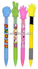 Hot sale lovely finger shape pen for promotion