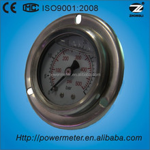 40mm oil pressure gauge kg and psi for oil and gas manometer