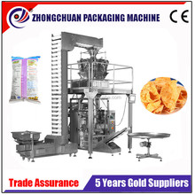 Full Automatic Packing Machine For Fried Pork Skin Snack,Chip,Small Cracker