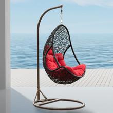 Modern design slide and swing chair for kids
