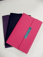 wallet-style PU leather Tablet case with Two in One Collapsible standing Cover