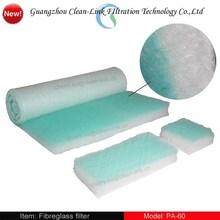 Best choice paint booth air filter mat/fiberglass floor filter(manufacture)
