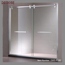 Two Panel Slider Stainless Steel Shower Screen