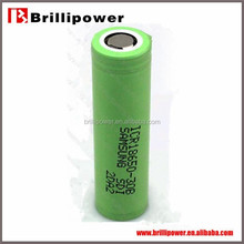 Authentic 3.7v 3000mah samsung li ion battery 18650 rechargeable lithium battery