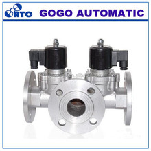 Imported three-way solenoid valve water oil steam gas corrosive fluid