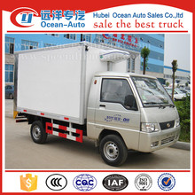 Foton 4X2 gasoline refrigerator truck for sale