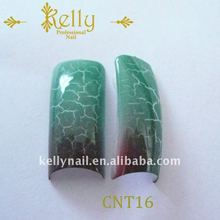 Top quality crackled nail tips