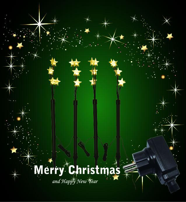 LED Christmas lights/ LED holiday lights/LED Garden Christmas lights