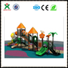 Guangzhou factory kids outdoor playground equipment for amusement park cheap playground for sale QX-B0096