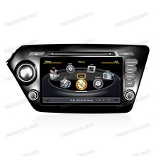 In-dash car DVD player navigator stereo +GPS system+car radio+TV+Bluetooth for Kia K2