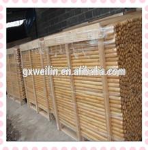 120*2.2 vassoura cabo de madeira