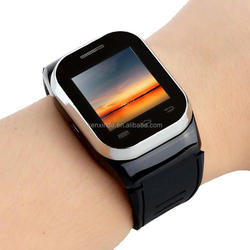 Best quality slide type mtk 6260 smart watch phone with mp3 mp4 camera FM Radio Bluetooth Function dual sim dual standby