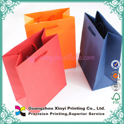 Single use shopping cheap paper bag oem for cookies