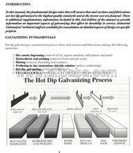 galvanización en caliente de la planta
