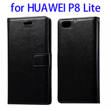 Hot sales Crystal Texture cell phone case for HUAWEI P8 Lite flip case