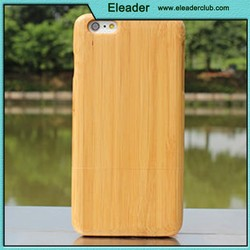 Natural blank wood case for iphone
