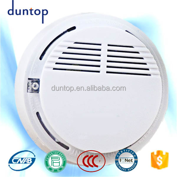 wireless battery operated cheap smoke alarms hotels smoke detectors buy che. Black Bedroom Furniture Sets. Home Design Ideas