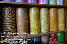 Cheap PVC Commercial Roll Flooring/Homogenous PVC Roll Flooring