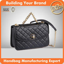 3886-2016 famous branded handbags fashion yiyi leather ladies cross body hand bag wholesale