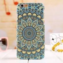 Wholesale China Elegant Royal Court Flower Pattern PC Hard Phone Case for iPhone 6