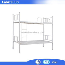 School Used Metal Frame Bunk Bed /Double Bunk Bed