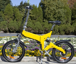 2015 New model Folding electric bicycle with hidden battery CE/EN15194