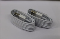 Factory original material genuine usb charger cable charger cord wire lead for iphone 5 6