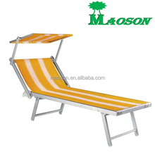 selling 2015 HOT new outdoor aluminium folding sun beach bed