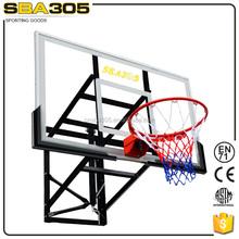 wall mounted outdoor basket ball hoops