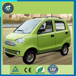 Cheap Chinese smart 4 seat mini 4KW electric car with Air Condition