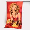 100% Microfiber disperse printed custom beach towel,sexy beach towel