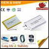 E-book Li-polymer 703050 1600mAh 3.7V rechargeable battery
