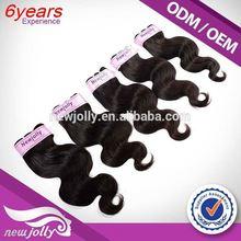 Low price brazilian hair clip in extensions,2015 new arrival Virgin Brazilian Hair Three Tone