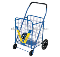 disabled shopping cart with foam wheels