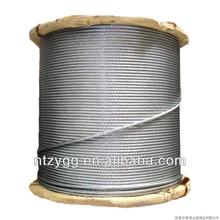 6x7+IWSC steel wire rope 6x7+FC steel wire cable