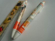 Promotional writing instruments fancy click pen gel pen gel ink pen